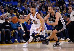 Stephen Curry y Golden State humillan a San Antonio