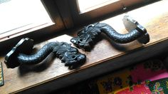 carved Chinese dragons