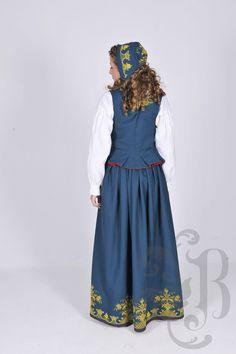 Romeriksbunad L46 Victorian, Folk, Dresses, Fashion, Vestidos, Moda, La Mode, Fasion, Dress