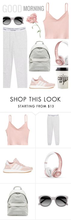 """""""Comfort is Key: Sweatpants"""" by lostandfound92 ❤ liked on Polyvore featuring H&M, Calvin Klein Jeans, adidas, Beats by Dr. Dre and Ace"""