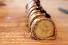 Domestic Charm: Kids Peanut Butter Banana Sushi