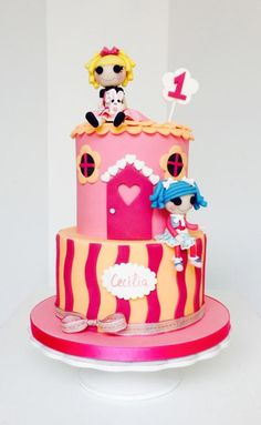 We could make little Lalaloopsy play houses out of stacked hat boxes