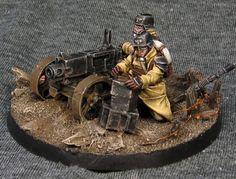 Death Korps of Krieg, in Steel Legion colours.