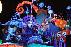 Disneyland Halloween ~ Nightmare Before Christmas Haunted Mansion Holiday