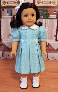 1930s Dress for 18 Inch Dolls Like Kit or Ruthie by BabiesArtUs, $45.00