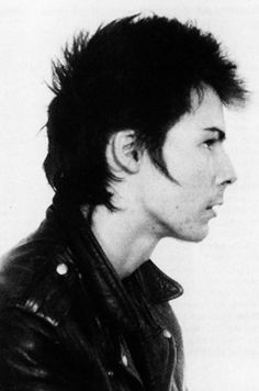 Sid Vicious poses for his mugshot after being arrested by New York City police for allegedly murdering his girlfriend Nancy Spungen on December 8, 1978 in New York City, New York.
