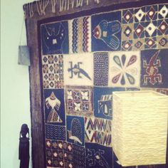 Day 18 | Something you may not know about me |   I love wallhangings. I bought this one in Zimbabwe.