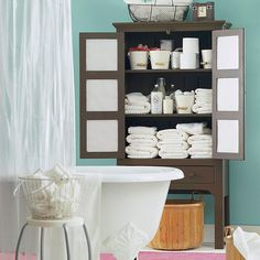 Bathroom cleaning is easy if you take it step by step. Here are our suggestions for tackling some of the major traffic areas: http://www.bhg.com/homekeeping/house-cleaning/tips/bathroom-cleaning-step-by-step/?socsrc=bhgpin111914bathroomcleaning