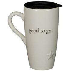 Primitives by Kathy Good to Go Travel Mug from Elizabeth's Embellishments