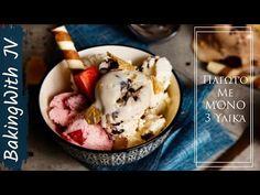 Σπιτικό Παγωτό με ΜΌΝΟ 3 Υλικά - Χωρίς Παγωτομηχανή ( #Giveaway 🎁) - YouTube Ice Cream, Sweets, Desserts, Youtube, Ice Candy, Sweet Pastries, Tailgate Desserts, Gelato, Goodies
