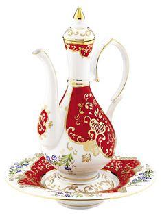 Kütahya Porselen Seramik İbrik Leğen Takımları