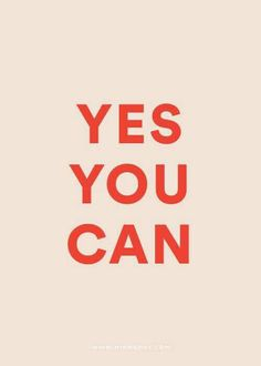 Because sometimes after a Monday, you may need a reminder! Via Minna May Design & illustration http://www.minnamay.com/portfolio/ #youcan #goals #mondaymotivation #minnamay #mua #beauty #sophiejean