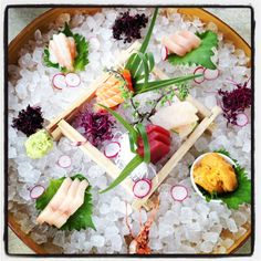 Sashimi at Sushi Samba!