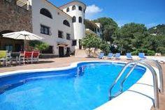 Grande villa pour 18 personnes avec piscine privée, vues sur la mer et située à 2000m. de LLoret de Mar et sa plage