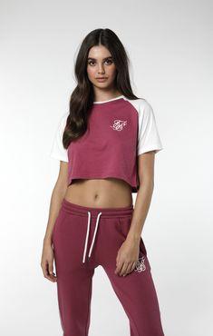 SikSilk Raglan Tee – Malaga Code: SSW-1118 Raglan Tee, Malaga, Streetwear, Nova, Crop Tops, Sport, Sweatshirts, Movies, T Shirt