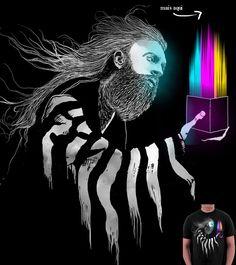 Estampa 'Colors of freedom' no Camiseteria.com. Autoria de rodisley jose da silva http://cami.st/d/51601