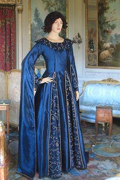 Renaissance Medieval Long Arm Custom Gown Dress Handmade   eBay