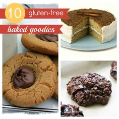 ten delicious gluten-free baked goodie recipes.