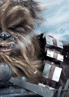 Ilustración de Chewbacca - Star Wars