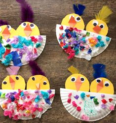 Over 90 Easter crafts that are Hippity Hoppity Happy # . - krippe - Over 90 Easter crafts that are Hippity Hoppity Happy - Preschool Crafts, Fun Crafts, Diy And Crafts, Easter Crafts For Preschoolers, Easter Crafts Kids, Paper Easter Crafts, Spring Craft Preschool, Easy Crafts For Toddlers, Wood Crafts