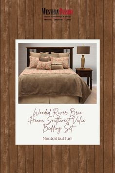 Have A Good Night, Good Night Sleep, Comforter, Bedding Sets, Southwestern Bedroom, Bedskirts, Wood River, Brio, Western Decor