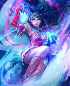 My take on Ahri from the episode!! Hope you enjoyed it LINK in my bio!  #ahri #leagueoflegends #lol #art #drawing #sketch #digitalart #illustration #portrait #painting #fanart #character by rossdraws