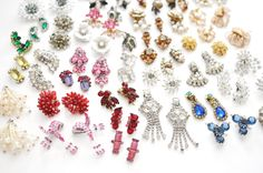 Vintage rhinestone earrings are the perfect spark to add to any look!