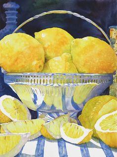 Blue Bottle & Lemonade  by Sue Archer