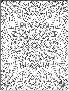 Creative Haven Mandala Techellations Coloring Book