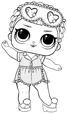 Free Printable Lol Doll Coloring Pages from Lol Doll Coloring Pages Printable. Toys LOL are treading the peak of popularity among children throughout the world. Even though the doll inside the LOL Surprise ball is not exactly rev. Ninjago Coloring Pages, Bee Coloring Pages, Boy Coloring, Coloring Pages For Girls, Mermaid Coloring, Doodle Coloring, Cartoon Coloring Pages, Disney Coloring Pages, Animal Coloring Pages
