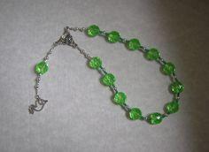 Eirene Pocket Prayer Beads: Greek Goddess of Peace by HearthfireHandworks on Etsy