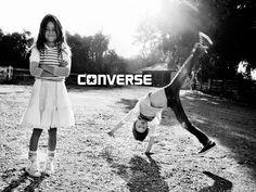TRICIA JOYCE INC Artist Representative: Dani Brubaker shoots Converse Spring '11 Campaign