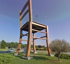 Big John and the Battle for the Title of World's Largest Rocking Chair