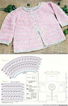 Por el gancho de la Labor de punto de la Costura: la Labor de punto por el Gancho a los Niños // Катерина