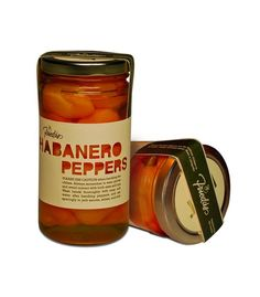 Freida's Habanero Peppers (Student Work) on Packaging of the World - Creative Package Design Gallery  I thought this was really interesting-- simple and creative while showcasing the product.