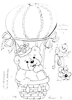Baby Painting, Fabric Painting, Coloring Books, Coloring Pages, Cute Bear Drawings, Shark Party, Cute Bears, Digi Stamps, All Art