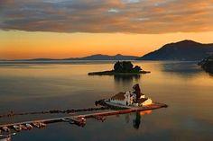 sunset mouse island