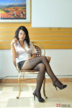 Models pantyhose Asian