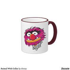 The muppets - Animal con el cuello taza de dos colores. Regalos, Gifts. Producto disponible en tienda Zazzle. Tazón, desayuno, té, café. Product available in Zazzle store. Bowl, breakfast, tea, coffee. Link to product: http://www.zazzle.com/animal_con_el_cuello_taza_de_dos_colores-168332131776065278?lang=es&design.areas=[zazzle_mug_11_front]&CMPN=shareicon&social=true&rf=238167879144476949 #taza #mug