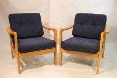 Fauteuil scandinave années 60 d'occasion vintage, design, scandinave, industriel, ancien vendu sur Collector Chic dépôt-vente