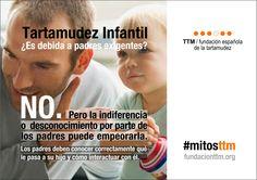 #mitosttm ¿Es debida a padres exigentes? No. Pero la indiferencia o desconocimiento por parte de los puede empeorarla #ttminfantil #yotartamudeoyqué