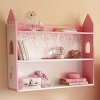 Cheap Home Shelving Solutions.. Doll house shelf cute in hiedi's room