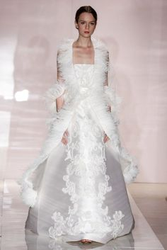 Tadashi Shoji - Spring 2014 Reem Acra Bridal Fall 2014-Birds of a Feather Reem Acra Bridal Fall 2014- ...