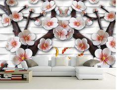 Tapeten 3D Stereo 3D relief wandbild tapeten papel de parede wand aufkleber