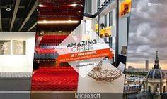 Amazing office by microsoft, réservez des bureaux d'exception le temps dune soirée grâce à microsoft
