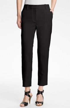 3.1 Phillip Lim Crop Stretch Wool Trousers | Nordstrom