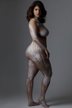 Denise Bidot and Marina Bulatkina Pose Nude to Raise Awareness About Body Confidence