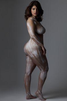 Denise Bidot and Marina Bulatkina Pose Nude to Raise Awareness About Body Confidence
