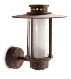 Philips Origin Lampada da Parete Lanterna per Esterno, Color Ruggine, Lampadina Inclusa: Philips: Amazon.it: Casa e cucina