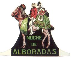 """Noche de Alboradas"" (1925)  Afiche"